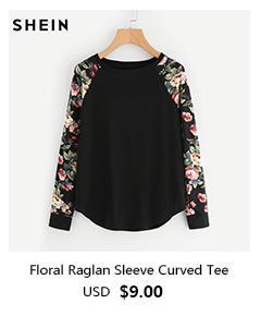 SHEIN Women Blue Long Sleeve Short Casual Denim Jackets 2018 Turn-down Collar Plain Hem Distressed Crop Jean Coat Clothes