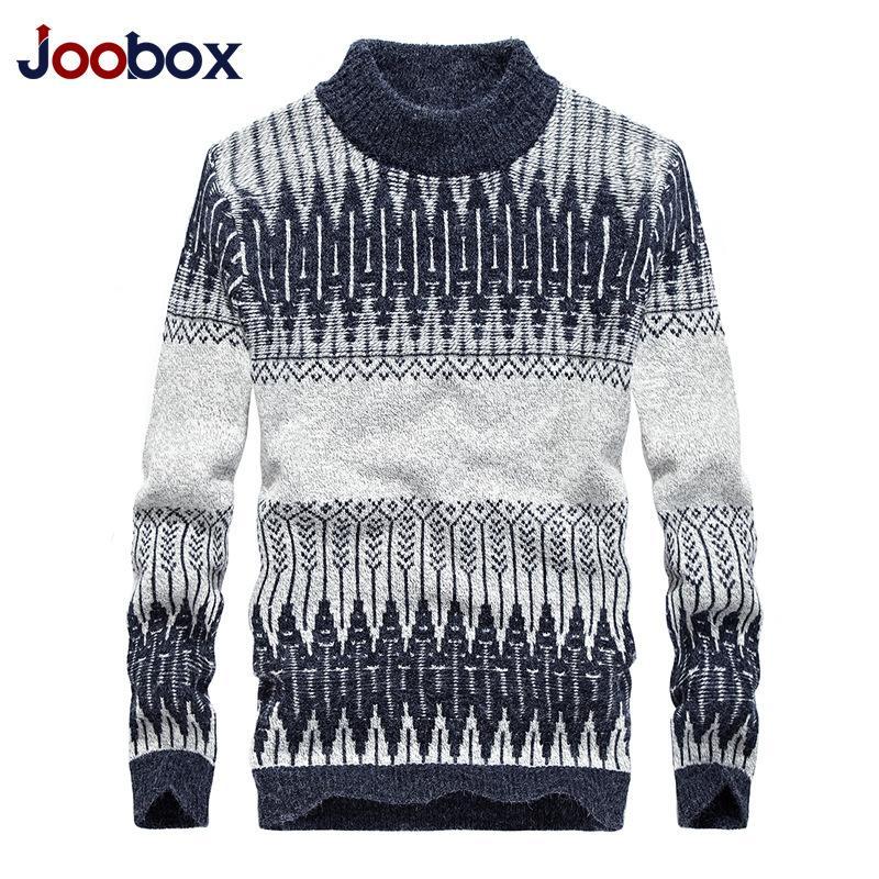 9ab4d0b29e 2018 New Maglione Uomo Maglione invernale Caldo Casual Dolcevita Pullover  di lana per uomo Plus Size M-3XL Casual