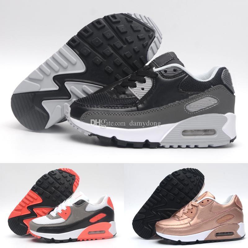a808f760372 Acheter Nike Air Max 90 Bébés Enfants Chaussures De Course Air Tavas  Chaussures De Course 90 II Enfants Chaussures De Sport Garçons Filles  Beluga 2.0 ...
