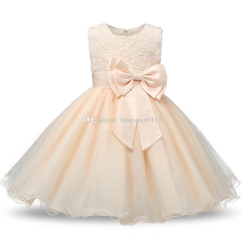 2019 Girl Floral Princess Party Dress Girls Dress Summer Children Clothing  Wedding Birthday Baby Dress Tutu 2 10 Y Baby Girl Clothes From  Tangyuan0117 2a3254f090ad