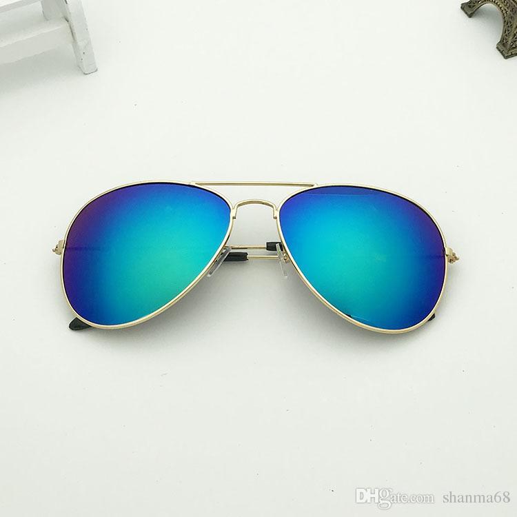 ab82e543a53b Summer New Deluxe Classic Men Pilots Sunglasses Luxury Design Brand ...