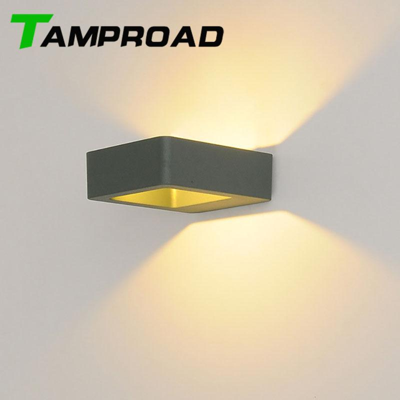 2018 Tamproad Modern 8w Led Wall Sconce Lighting Spotlight Outdoor