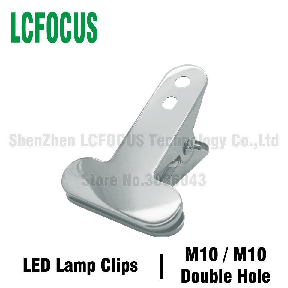 2019 Diy Led Table Desk Lamp Clips 113x75mm Sliver Black Gooseneck