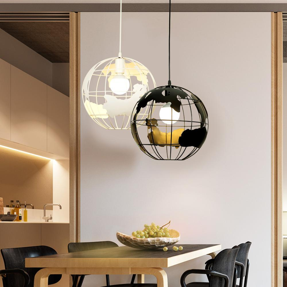 Zhaoke modern global earth pendant lights suspension luminaire for living room restaurant home lighting fixtures pendant lamps art glass pendant light