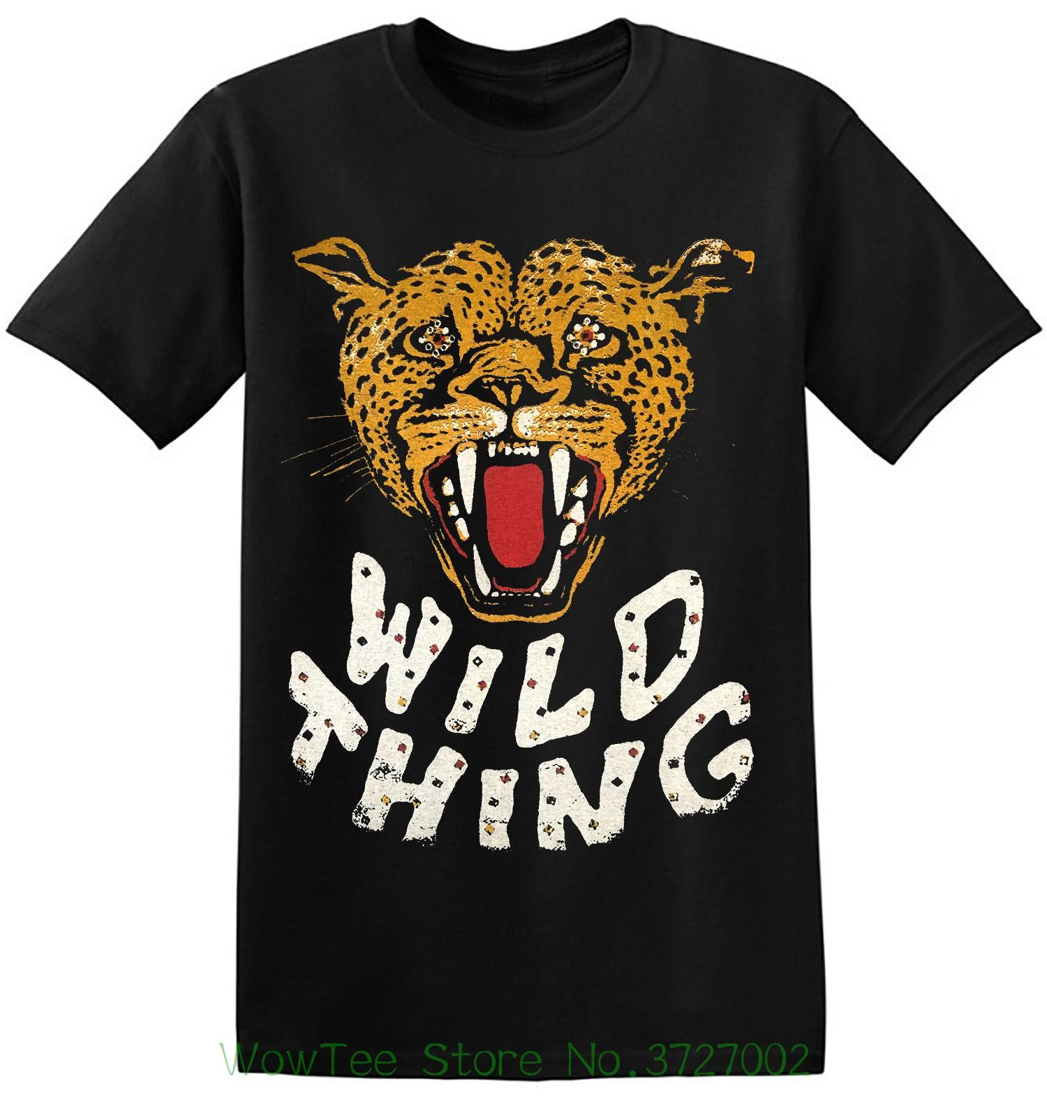 8a8500db Wild Thing Tee Old Band Shirts Black Vintage Classic Rock Band T Shirt 1 A  071 100 % Cotton Tee Shirt For Men Buy Designer Shirts Great Tees From ...