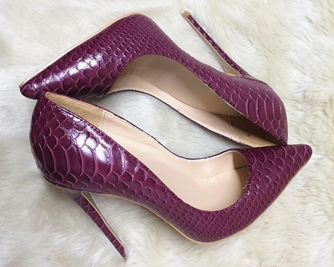 a97c63e456731 Sapatos Feminino Womens Sexy Evening Party High Heels Stilettos Shoes Snake  Skin Leopard Pumps US Size 35-42 Women Shoes D0071