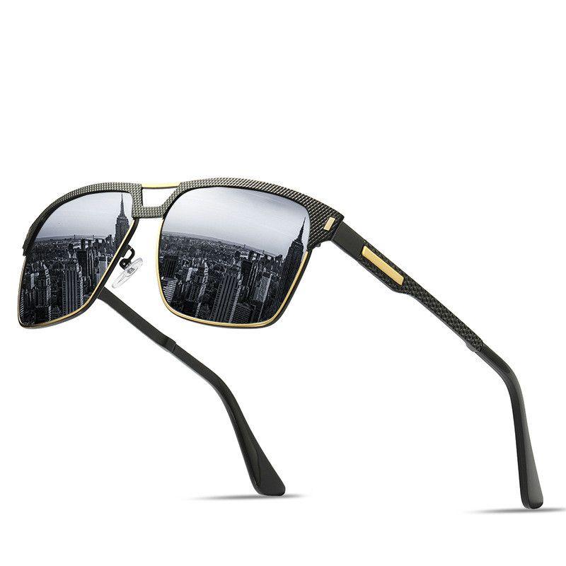 2990b8c3f1 NerZhul New Man Polarized Sunglasses HD Classic Black Spring Leg Men ...
