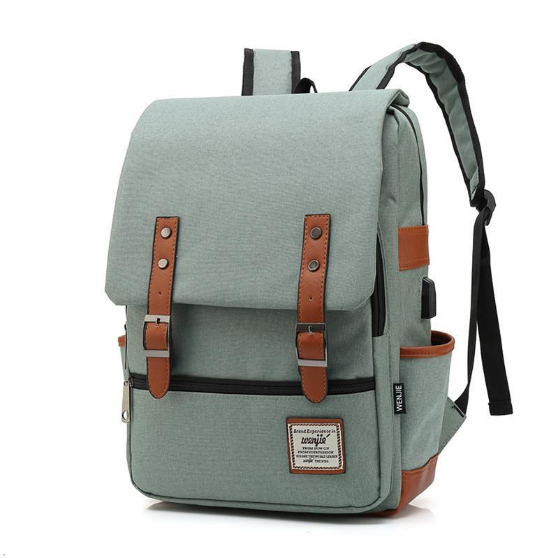eb7ac6e73912 New Design USB Charging Laptop Backpack College Travel Backpack Nylon Anti  Theft Women Men School Bags For Teenage Girl Mochilas Ogio Backpack  Rucksacks ...