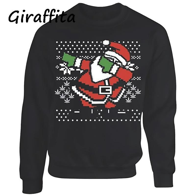0bf7101eefb22 Acheter Mode Hommes Pulls Style Européen Slim Jacquard Noël Santa ...