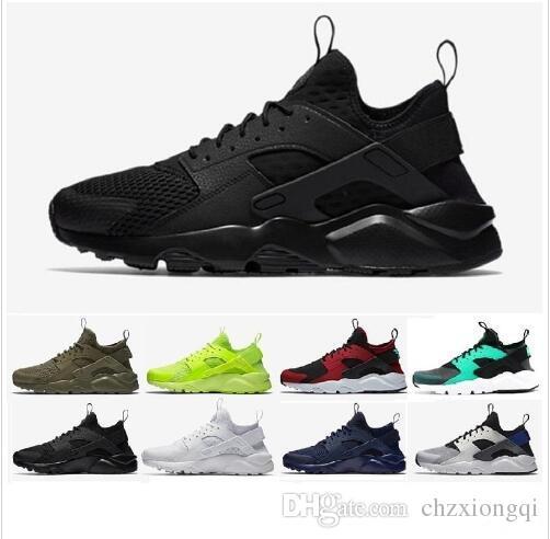 f2a5dd3cfc75e8 2018 New Air Huarache Running Shoes Huaraches Rainbow Ultra Breathe ...