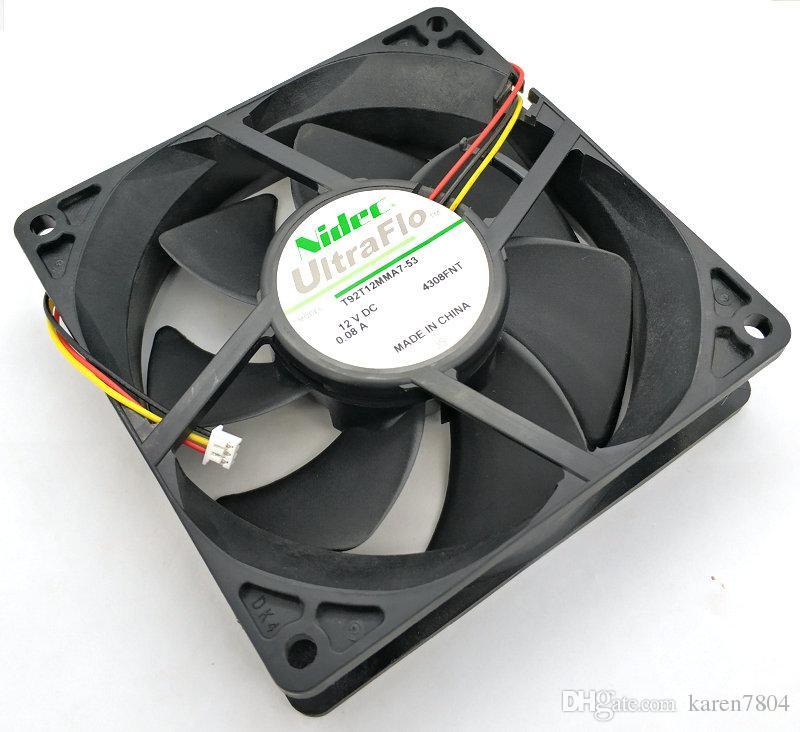 Nidec 8025 12v 0.08a u80t12mmb7-52 ventola di raffreddamento del proiettore U92T12MMB7-53 T92T12MMA7-53