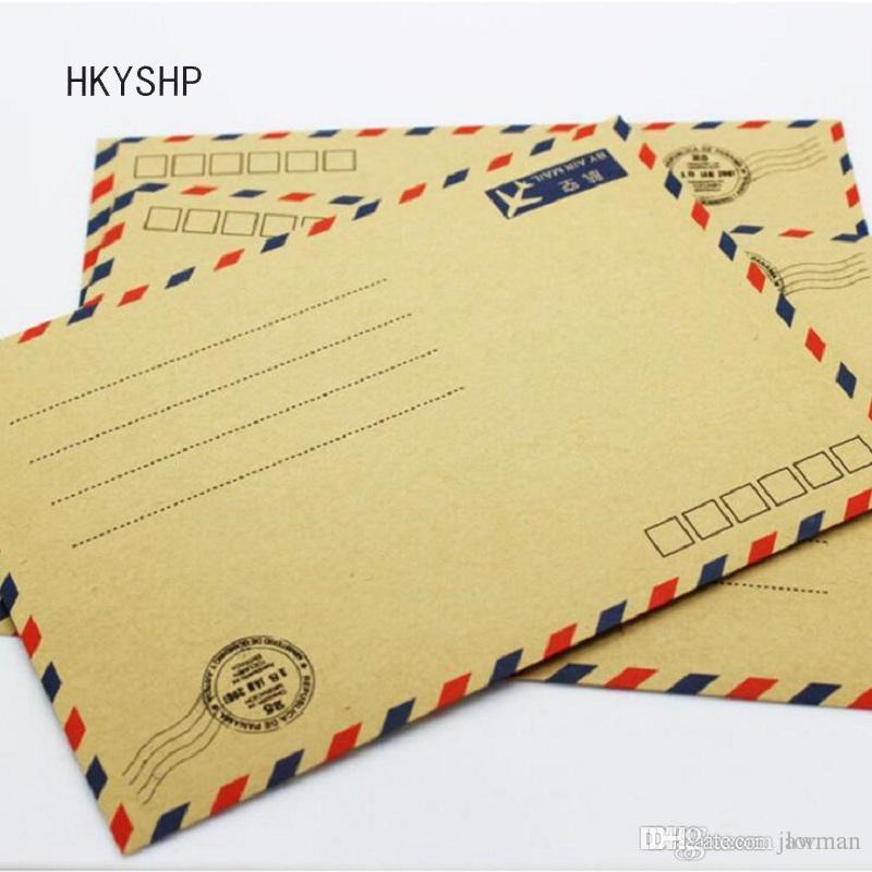 Hkyshp Aviation Envelope Kraft White Post Office Producer Can Be