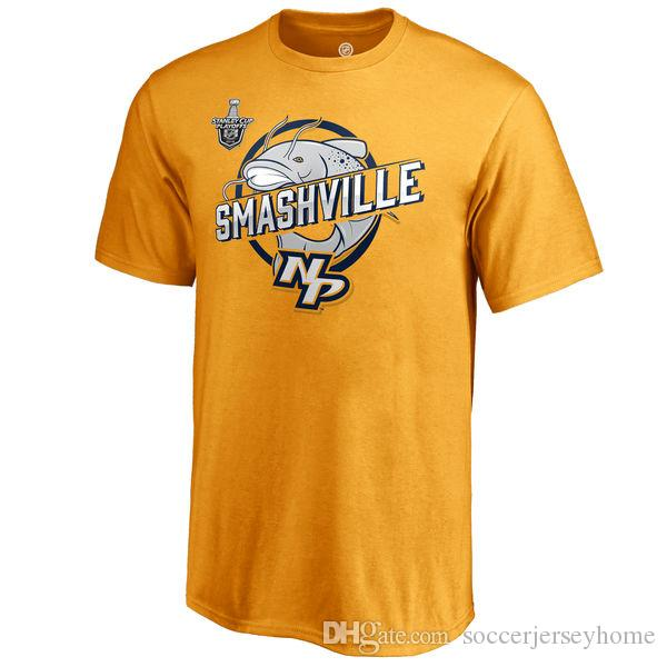 Nashville Predators 2018 Presidents  Trophy Winners Stanley Cup Playoffs T  Shirt Central Division Champions PK Subban Pekka Rinne Tee Short Sleeve  Shirts ... 95eaa684f