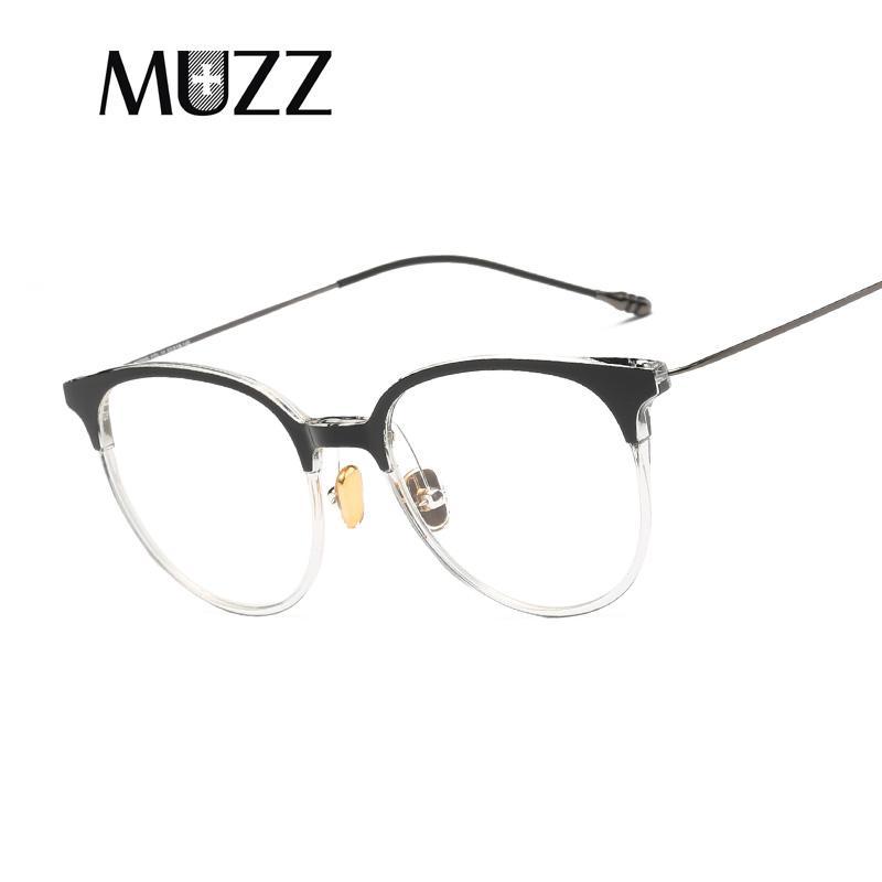 049681239e0 MUZZ Transparent Glasses Frame Fashion Myopia Women Men Glasses Eye ...
