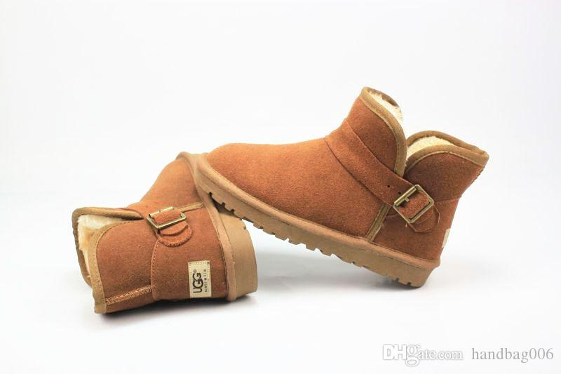 fashion classic mini ugg5855 3352 snow boots australia women winter boot warm xmas ladies u minis outdoor shoes christmas new ugly boots ch cheap cowgirl