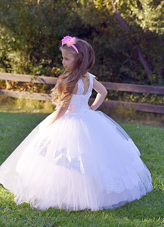 b29e9af2aed1 White Flower Girl Dresses Macys - raveitsafe