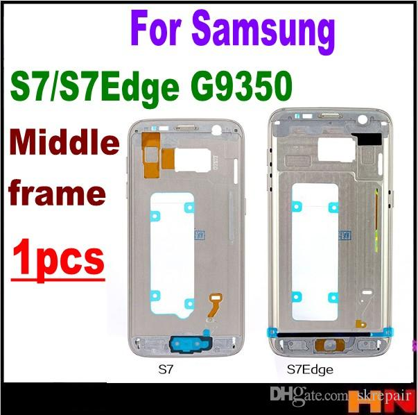 79134c2dbbc Mid Middle Plate Frame For Samsung Galaxy S7 G930F S7 Edge G935F Front LCD  Supporting Housing Chassis Frame Bezel Backlight Online with $19.32/Piece  on ...