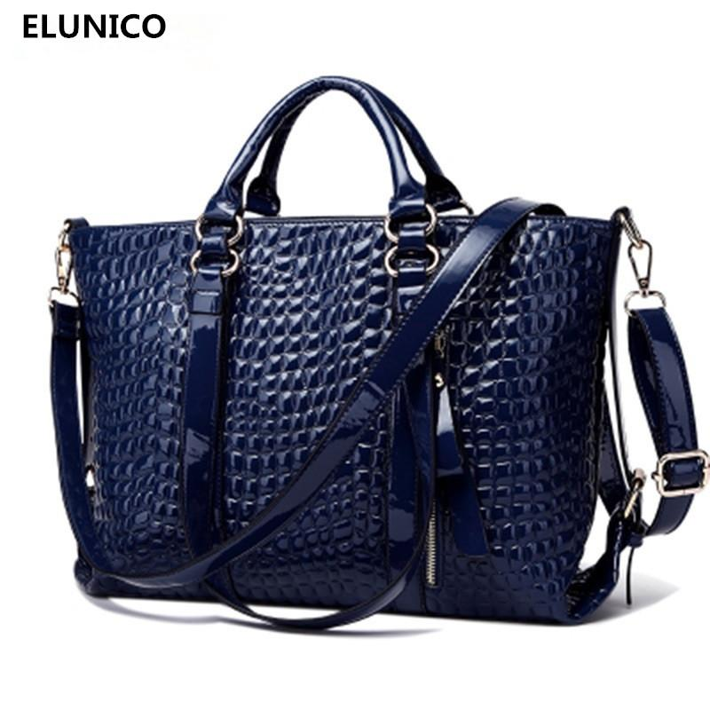 a132b46bd56c ELUNICO Brand Fake Designer Handbags Fashion Luxury Handbags Women Bags  Designer Cheap Women Alligator Bags Bolsa Feminina Leather Goods Purses For  Sale ...