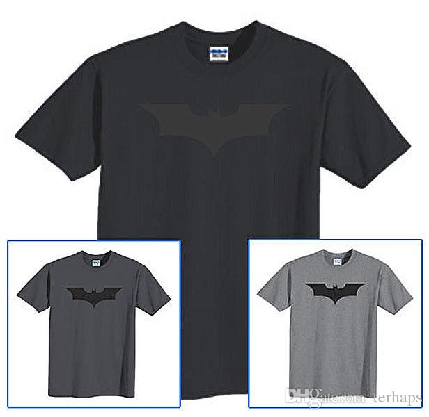 8b5cc1f68 Top Tee Logo T Shirt Black On Black The Dark Knight Rises DC Comics Size S  6XL Dirty T Shirts Graphic Tee Shirts From Terhaps, $10.89| DHgate.Com