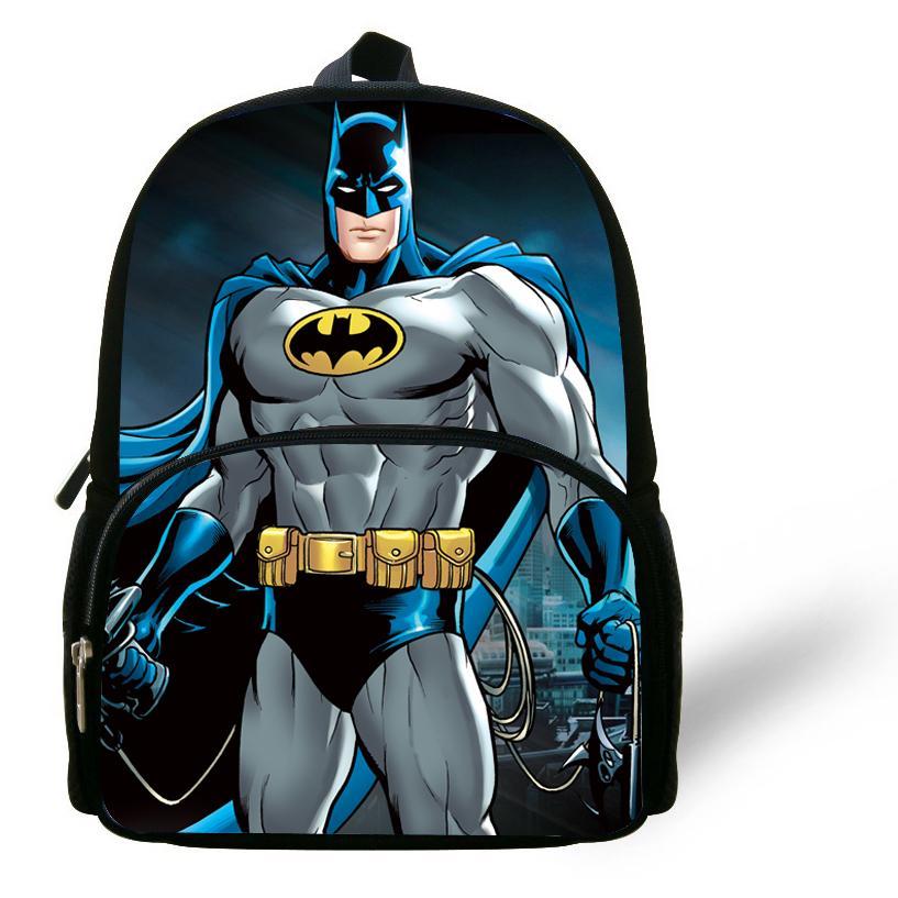 12 Inch Mochila School Kids Backpack Batman Bag For Boys Age 1 6 Cartoon  Children School Bags Boys Bolsa Infantil Menino Y18100805 Hydration Backpack  ... 1f28c8f77a14e