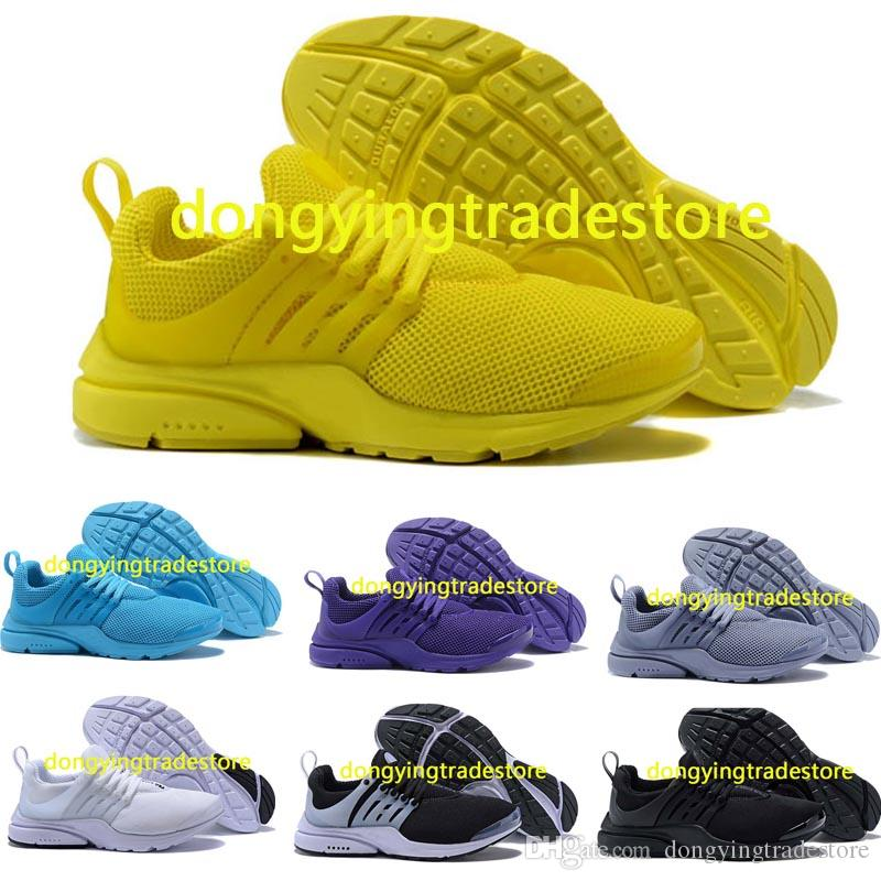 the best attitude ac9b5 872b9 Presto Running Shoes Men Women Ultra BR QS Yellow Prestos Black White Oreo  Outdoor Jogging Mens Trainers Sneakers Size 36 46 Best Running Shoes Running  ...