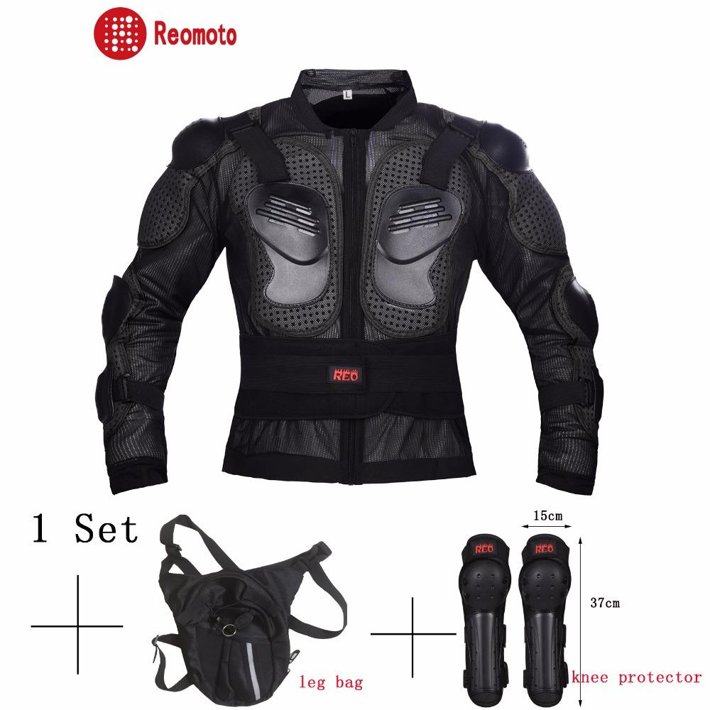 Discount Motorcycle Gear >> Motorcycle Full Body Armor Jacket Motorcycle Leg Bag Protective