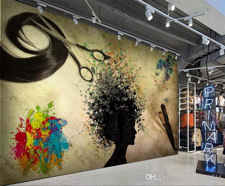 custom photo 3d wallpaper nostalgic style graffiti hair saloncustom photo 3d wallpaper nostalgic style graffiti hair salon decoration wallpaper custom high quality background mural hd wallpapers wide hd wallpapers
