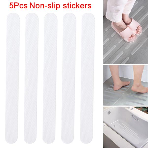 2018 Bathroom Bathtub Transparent Non Slip Stickers 20*2cm Stairs Tape  Bathroom Anti Slip Strips Safety Surface Tape Ooa5178 From  Liangjingjing_kitche, ...