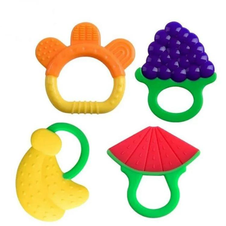 Baby Silicone Teethers Infants Fruits Soothers Watermelon Banana