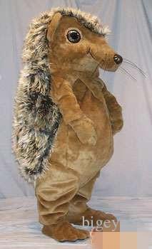0a028e0f1 Disfraz de mascota de erizo marrón personalizado para adultos Tamaño envío  gratuito