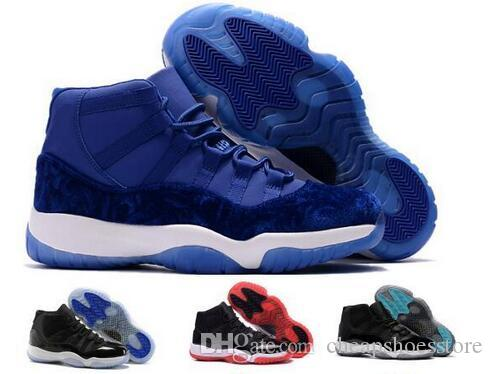 new styles c4b87 33bc4 11 Basketball Shoes Mens Women Gym Red Win Like 96 82 GS Bred Space Jam  Heiress Velvet Chicago Concord 11s Athletic Shoe Sneakers Discount Shoes  Online ...
