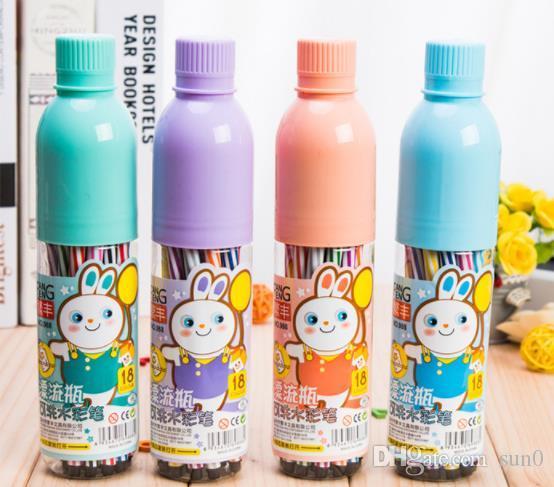 Satın Al Yeni Toptan 12 Parça Yaratıcı Plastik şişe Yıkanabilir