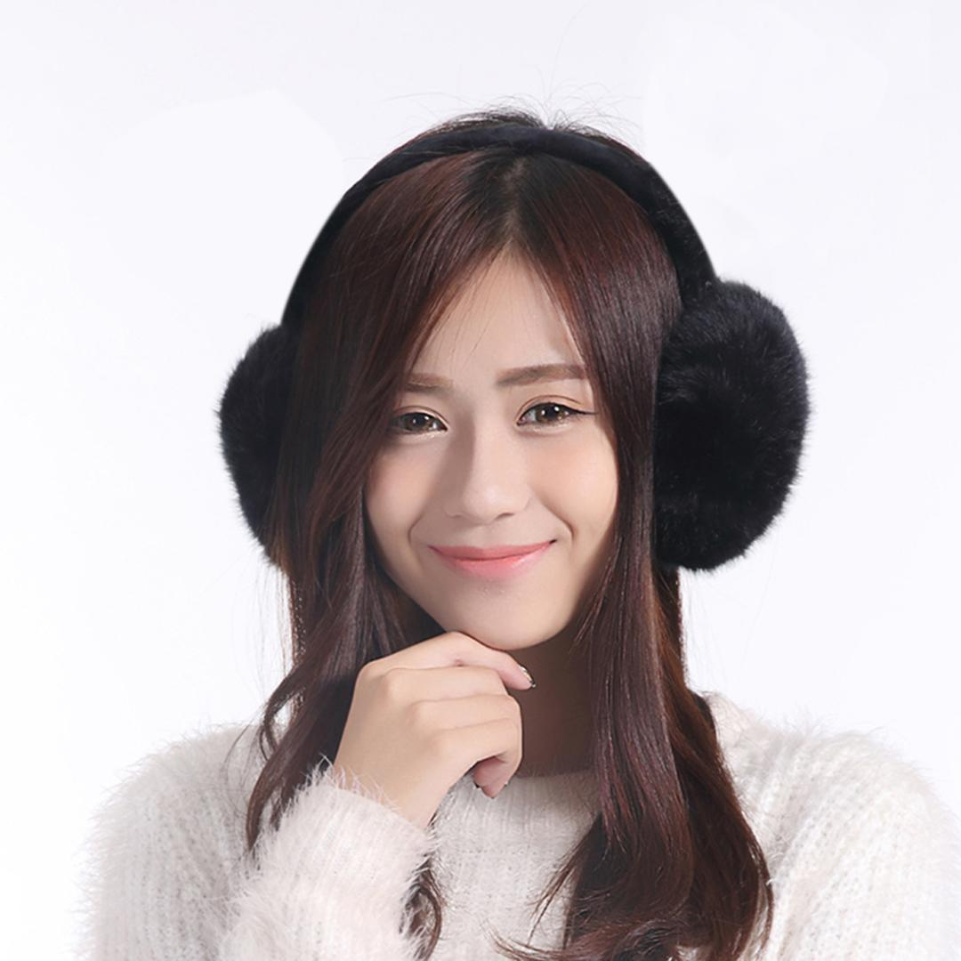 Earmuff 2018 New Hot Sale Adult Children Classic Ear Cover Earmuff Warm Solid Soft Winter Plush Fuzzy Faux Fur Warm Big