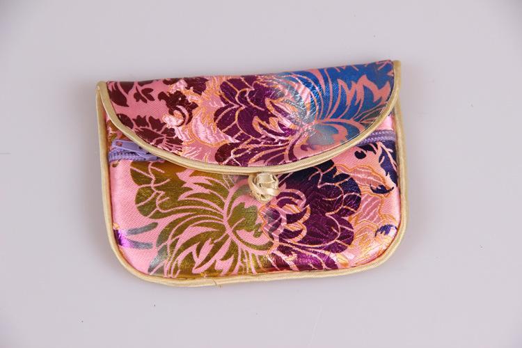 Joyería de seda del monedero del bolso de la bolsa de regalos 11cm * 8cm estilo bolsa de regalo de Chrismas fiesta de cumpleaños de boda de Halloween Año Nuevo chino Pascua