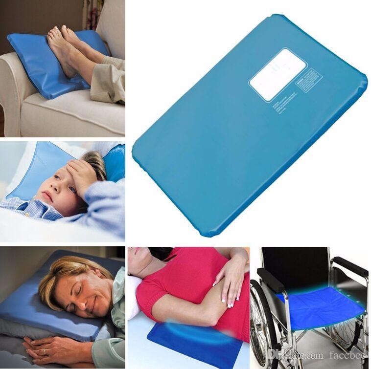 Été Chillow Thérapie Insérer l'aide de sommeil Pad Mat Muscle Relief Cooling Gel Coussin Ice Pad Massager No Box