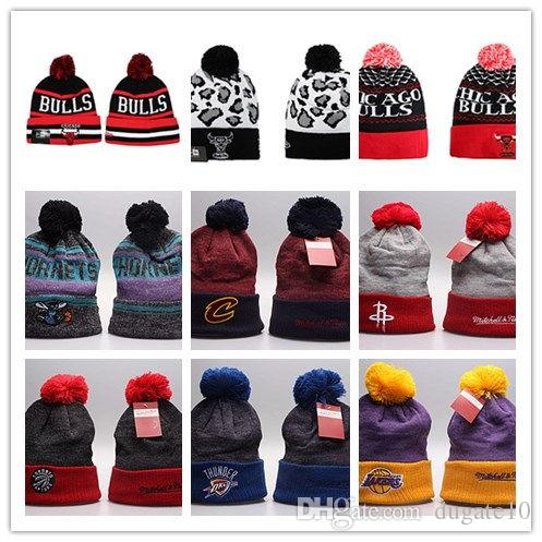 Good Selling Spring Winter Hats for Men Women Knitted Beanie Wool ... f8c28bcf3bd7