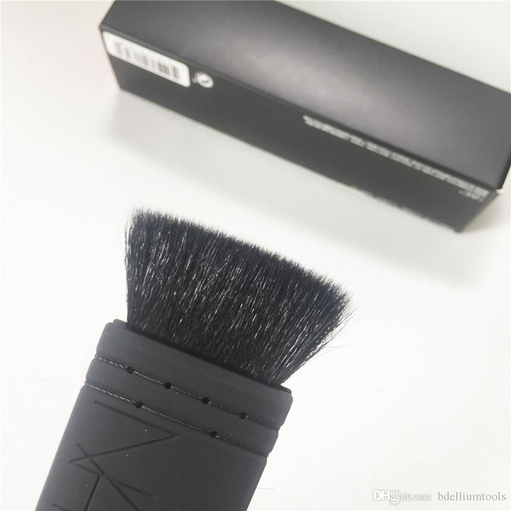 NAR-SERIES Ita Kabuki Brush No. 21 - Soft Goat Hair Flat Top Contour Sculpting Brush - Beauty Makeup Brushes Blender Tool