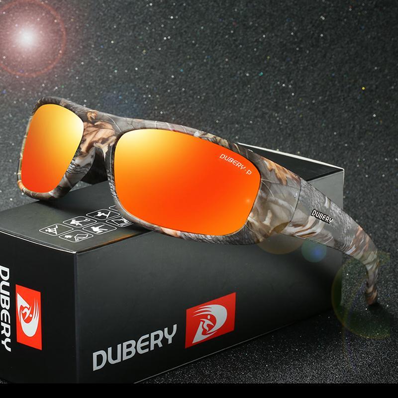 c3e24f226 Compre DUBERY Polarizada Night Vision Camouflage Óculos De Sol Dos Homens  Camo Masculino Óculos De Sol Para Homens Marca Designer Oculos Gafas De Sol  2018 ...