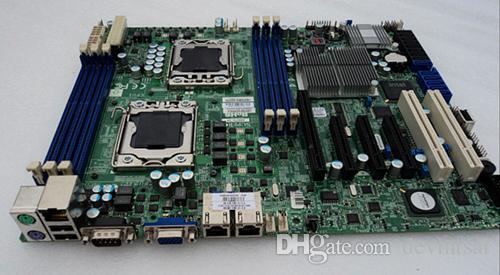 Placa base del servidor para SuperMicro X8DTL-3F Dual x58 LGA1366 System Mainboard