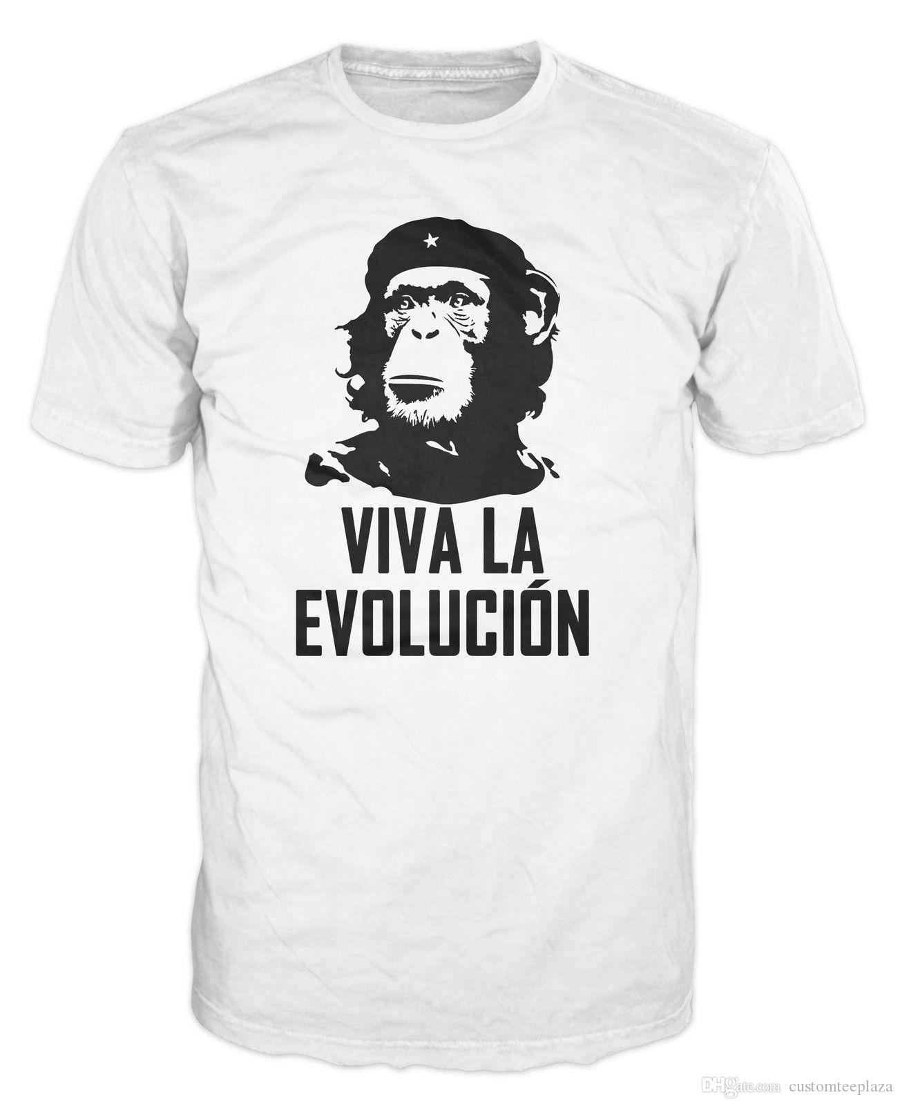 Viva La Evolucion Evolution Che Guevara Funny Monkey Hat Military T