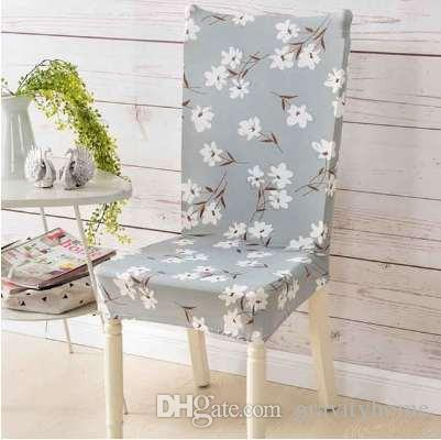 Incredible Elastic Anti Dust Chair Cover Stretchy Removable Slipcovers Modern Home Decor Party Banquet Seat Cases Dining Chair Seat Covers Alphanode Cool Chair Designs And Ideas Alphanodeonline