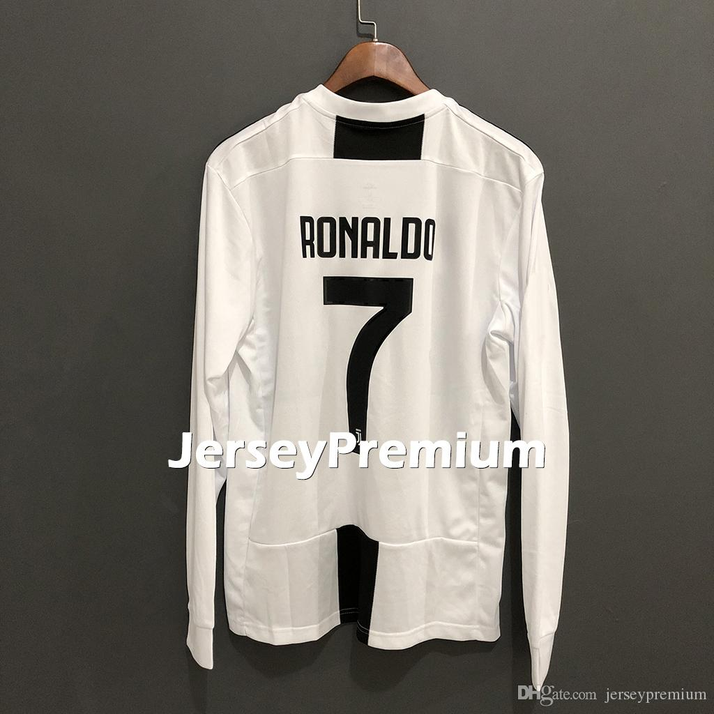 2019 Long Sleeve Juv Home Cristiano Ronaldo Cuadrado Marchisio Chiellini  Pjanic Matuidi Dybala Home Away Football Soccer Jerseys Shirts From  Jerseypremium 3df7c9e36