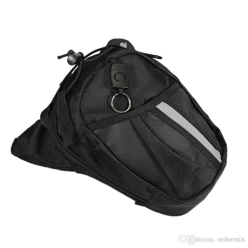 ماء قطرة الساق للدراجات النارية فاني حزمة الخصر حزام حقيبة أداة حقيبة الأمتعة في الهواء الطلق حزم الخصر الرياضة