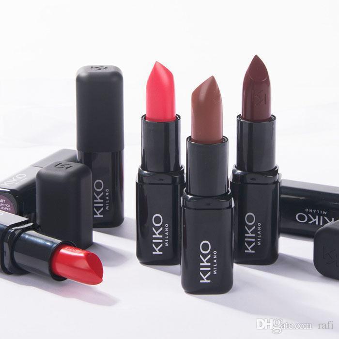 High Quality Kiko Smart Fusion Lipstick Matte Rouge A Levres 3g 10 Colors Hot Item By Dhl