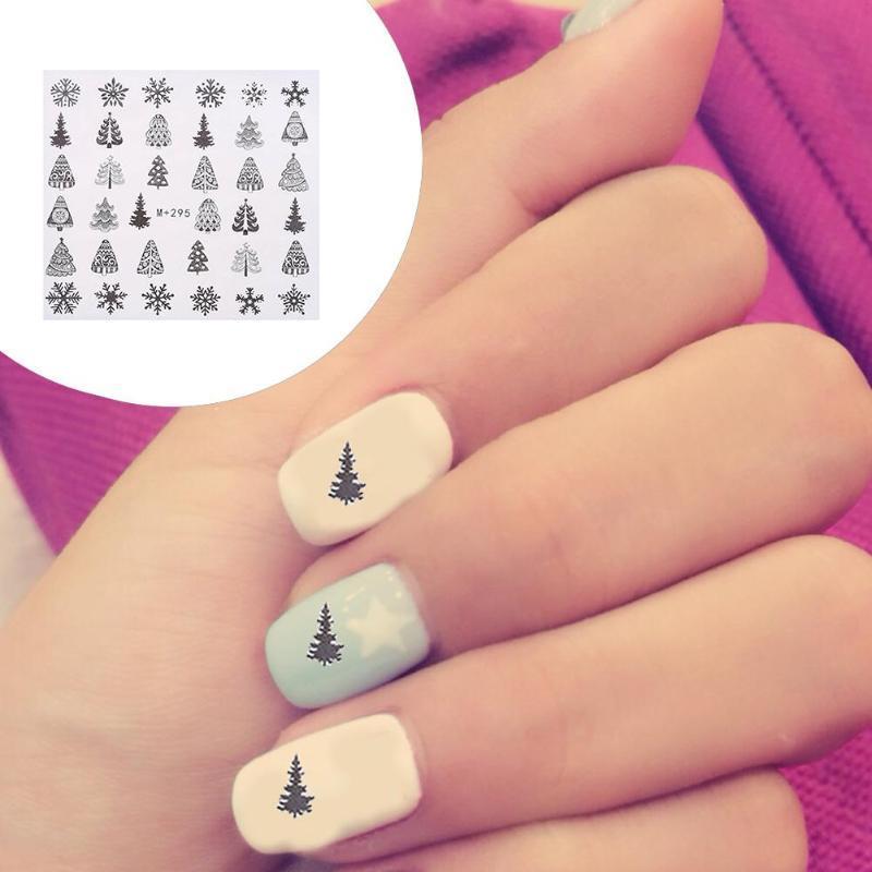 5 Sheet Christmas Snowflake Nail Foils White Snow Christmas Design