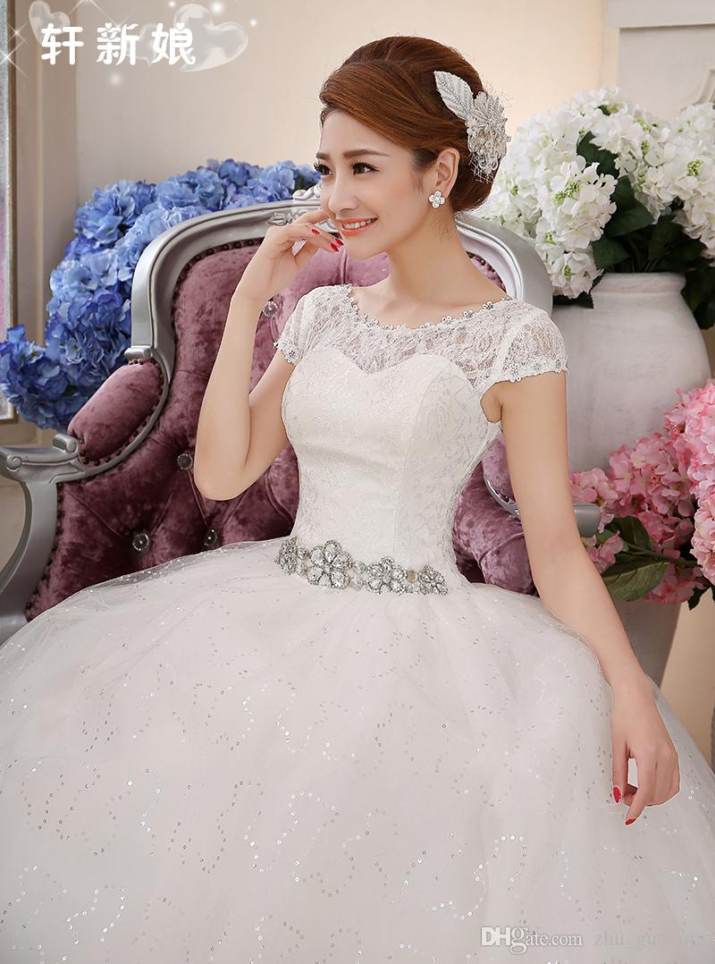Free Shipping 2018 Cheap Lace Vintage Plus Size Wedding Dresses Vestidos De Novia Bridal Dress Robe de Mariee