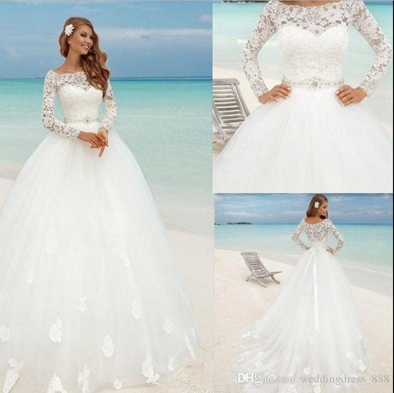 New White Ivory Beach Wedding Bridal Dress Custom Size 6 8 10 12 14 ...