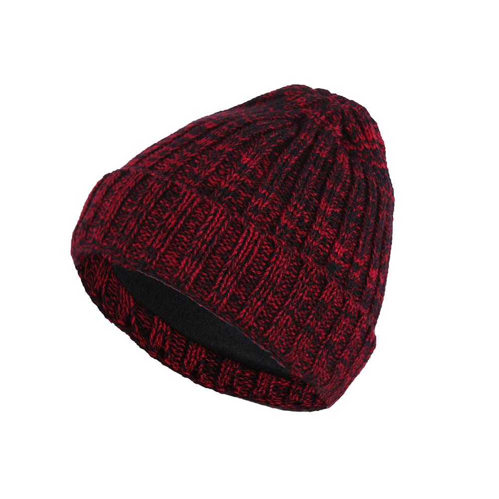 3fe45569633 2018 Men Beanies Knit Hat Winter Cap For Man Knitted Cap Boys ...