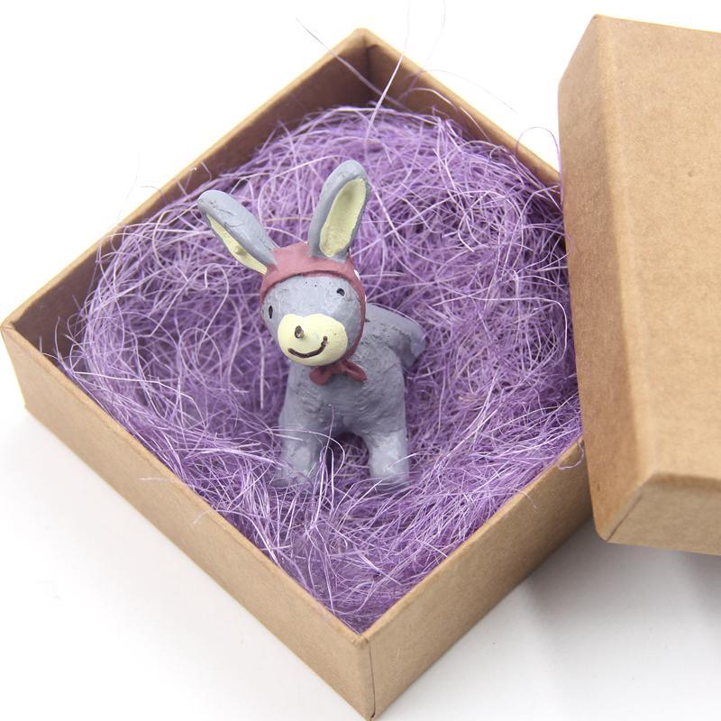 Novo 50 g / saco Natural Hemp Shreds Gift Box Enchimento De Material De Embalagem De Easter Confetti Para Festa de Aniversário de Casamento Decoração Do Presente