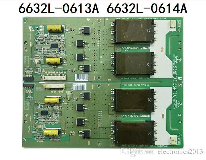 Free Shipping Backlight Inverter Board TV Board Unit For 55 PPW-CC55NF-M/S  6632L-0613A/ 6632L-0614A LG Screen LC550WUD